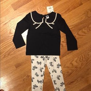 Janie and Jack Matching Set (Navy)